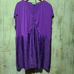 Logo instant chic purple top